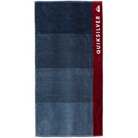 Quiksilver Freshness - Serviette de bain - rouge/bleu